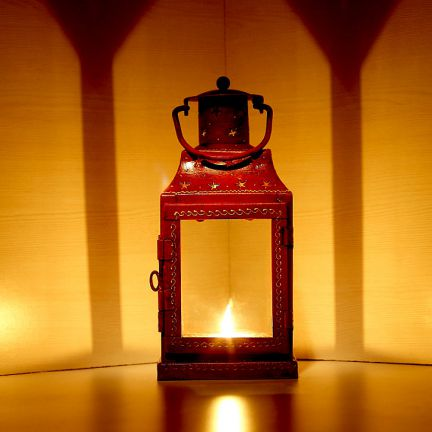 Fill up a festive lantern with little gifts for your very own Diwali Gift Bucket