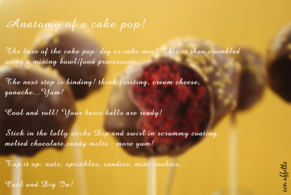 What is a cake pop made of exactly? We take it apart for you, layer by layer.