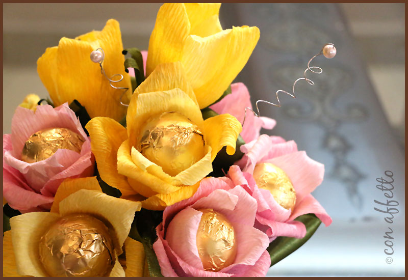 Edible bouquets are better than regular flower bouquets in that they require zero maintenance
