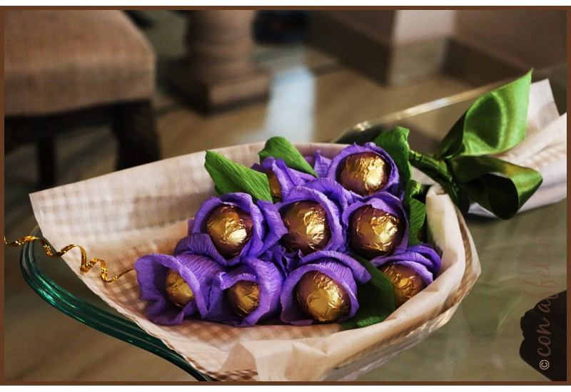Funky Christmas gift ideas, gift Con Affetto's edible bouquets
