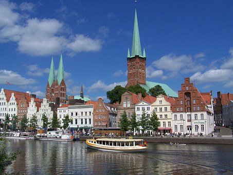 Lubeck, Germany also known as Marzipan City!