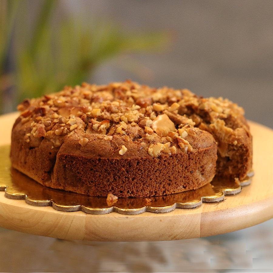Healthy Cakes - Apple Cinnamon Walnut Crumb Cake