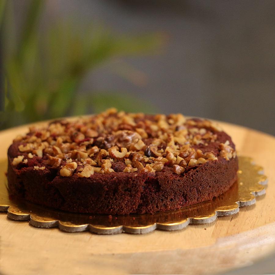 Healthy Cakes - Beetroot Walnut Cake