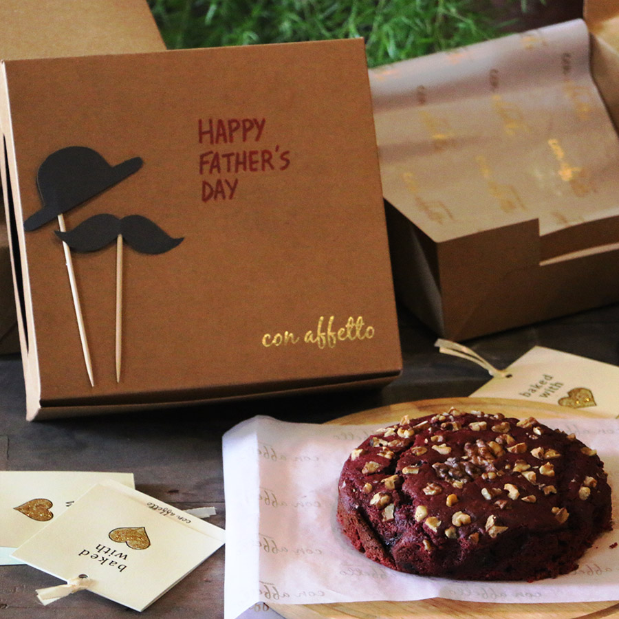 Father's Day - Beetroot Walnut Cake - Father's Day