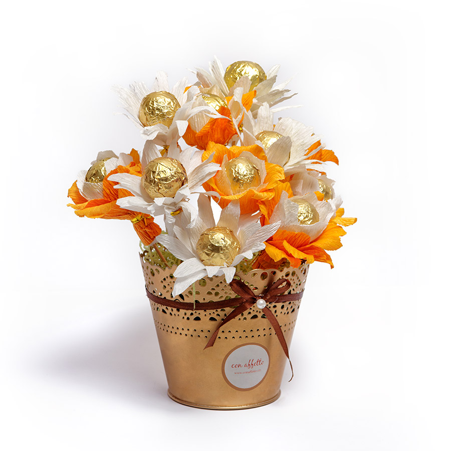 Cake Pop Bouquet - Daisy Blooms