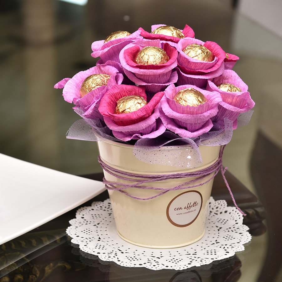 Cake Pop Bouquet - Decadence Bud