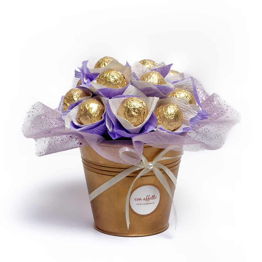 Cake Pop Bouquet - Just Lavendar