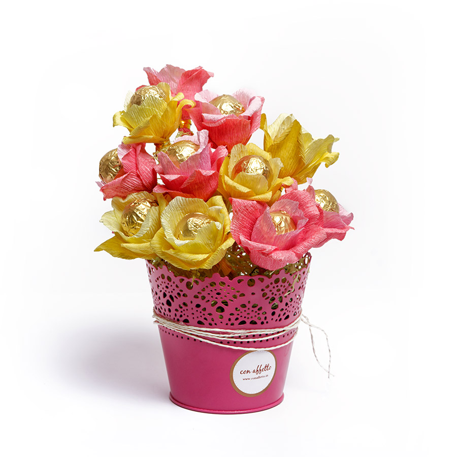 Cake Pop Bouquet - Hello Sunshine